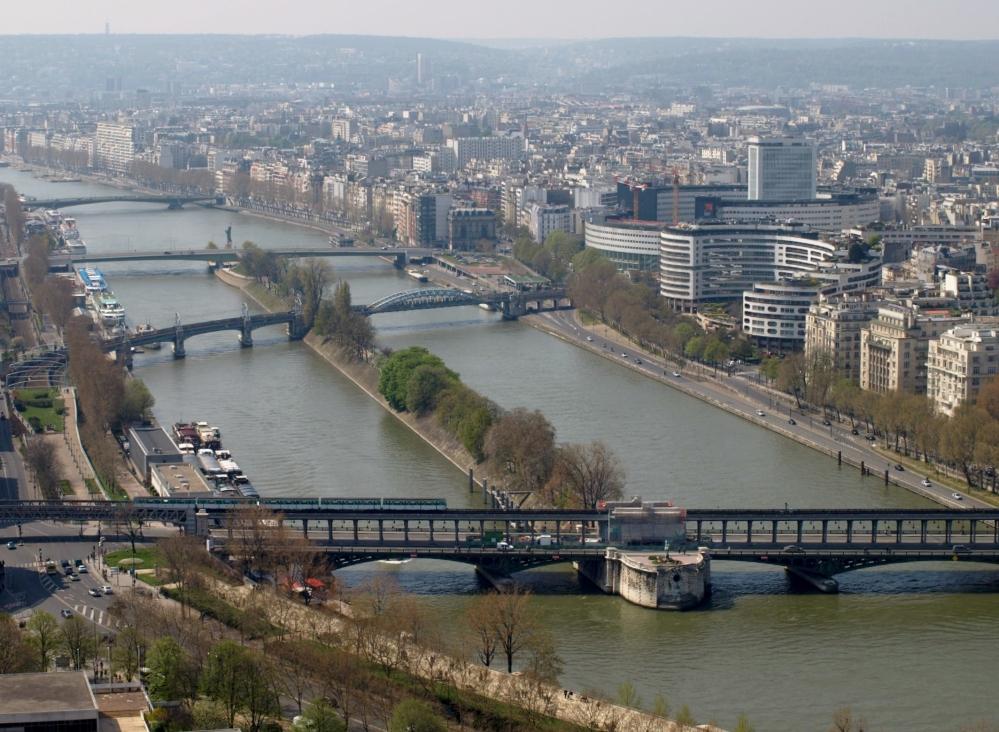 París visto desde el cielo (4): la Torre Eiffel. (6/6)