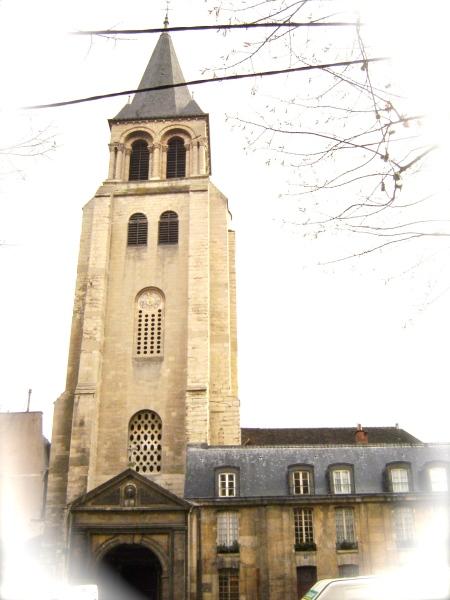 La torre de Saint Germain des Prés.