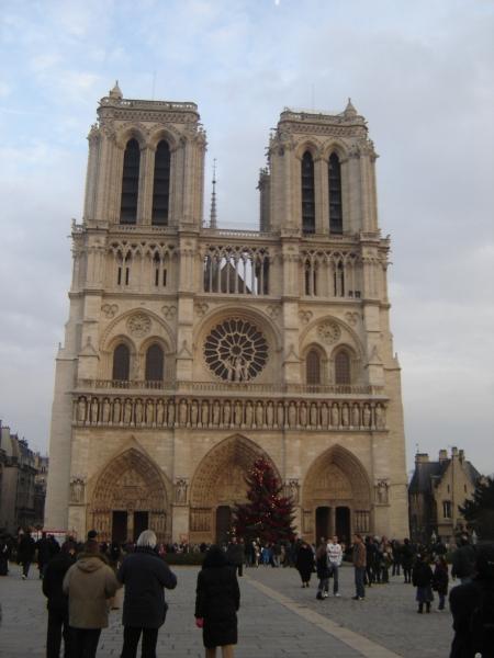 La Catedral de Notre Dame de París.